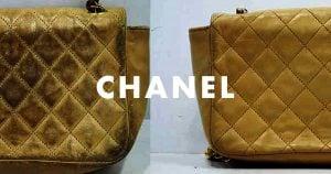 シャネルチェーンバッグ(鞄)のクリーニング