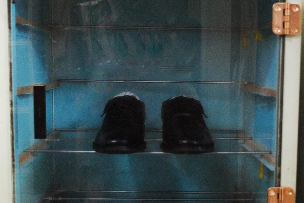靴のオゾン雑菌の画像