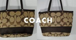 コーチのバッグ・鞄のクリーニング