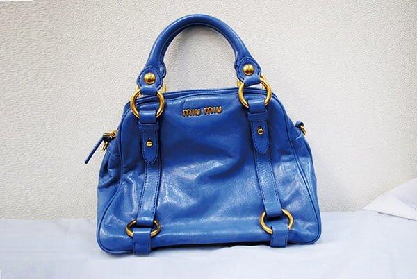 ミュウミュウ(miumiu)バッグ・鞄のクリーニング・修理の事例・作業後