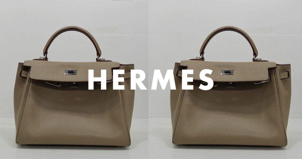 エルメス・ケリーバッグ・鞄のクリーニング