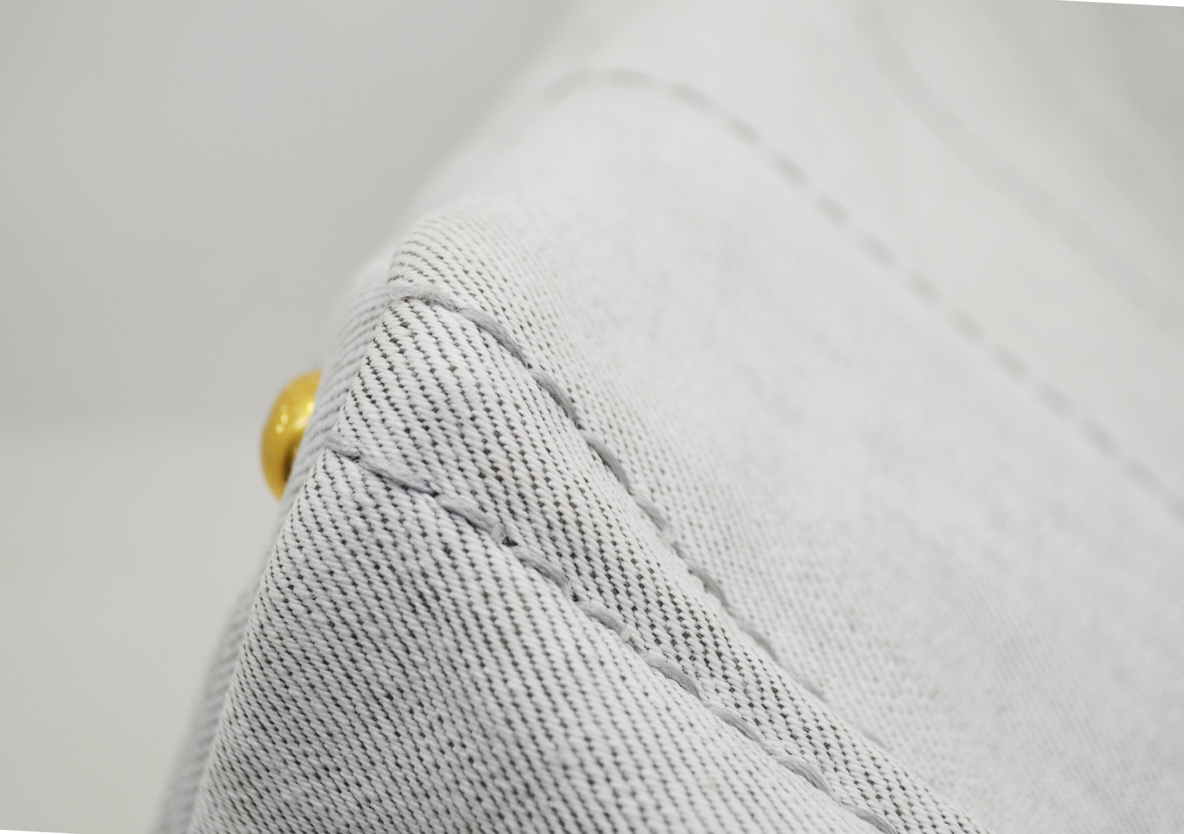 プラダキャンパス(布)のトートバッグのクリーニング後角の画像
