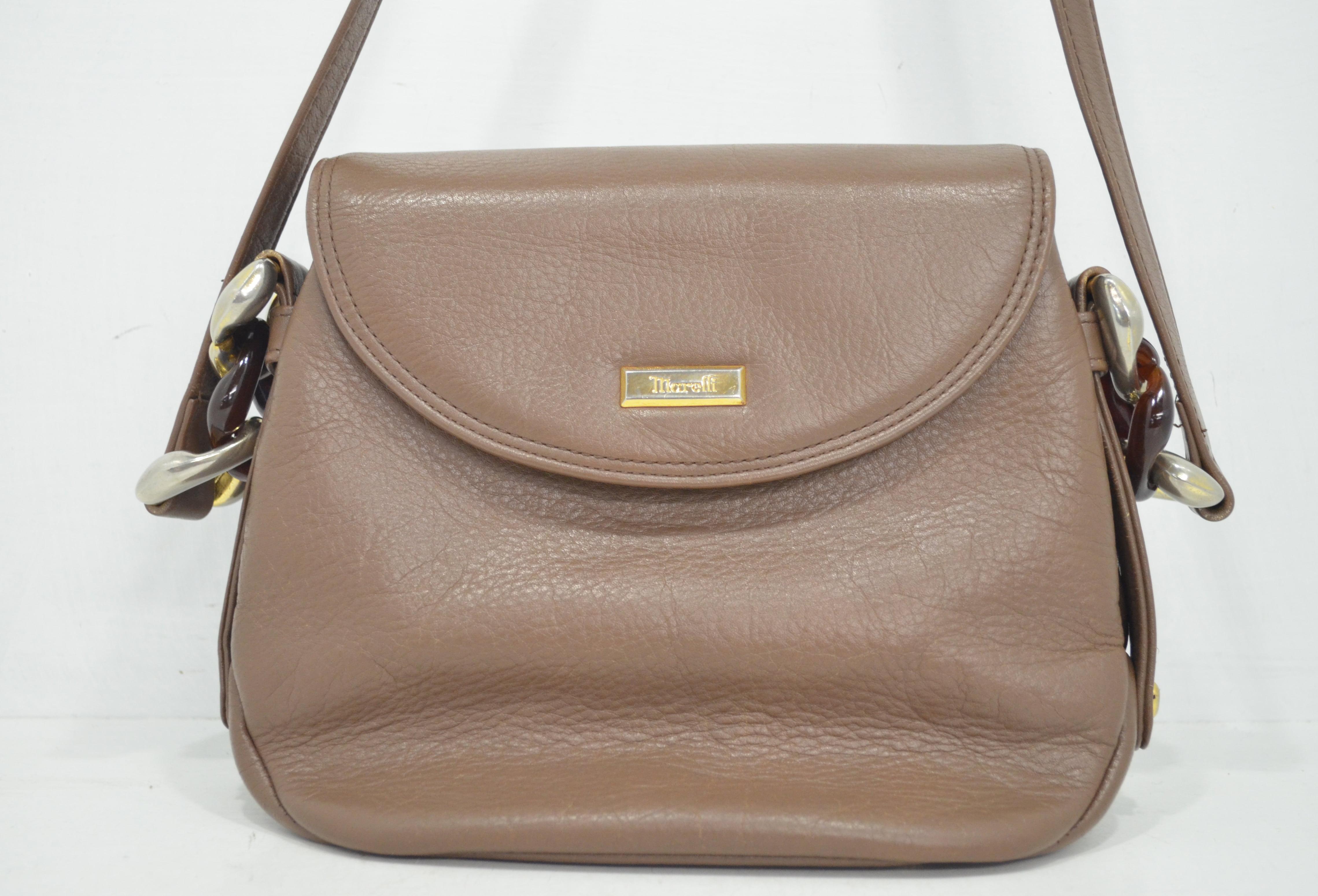 マレリーの鞄・バッグクリーニング作業例正面