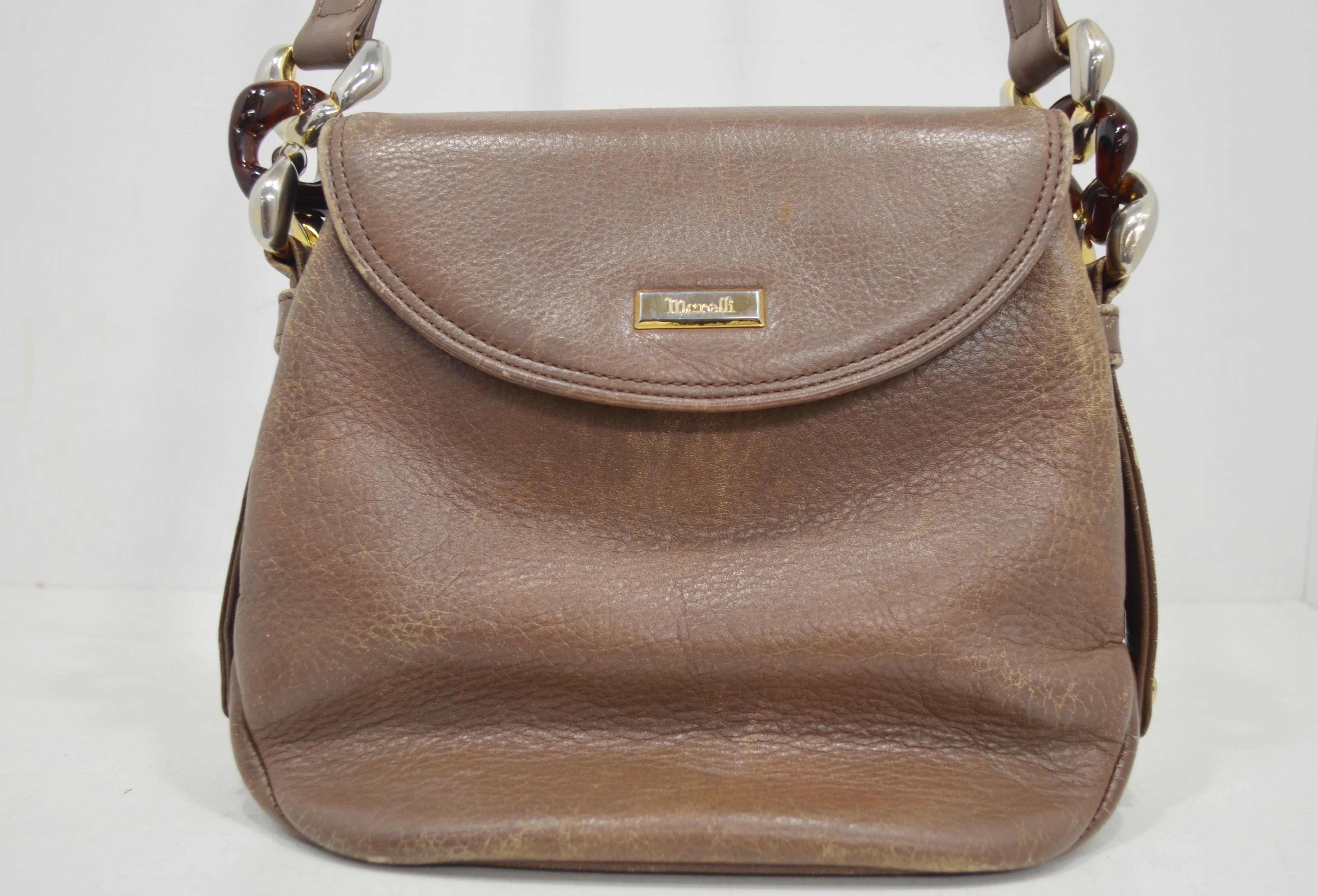 マレリーの鞄・バッグのクリーニング事例正面画像