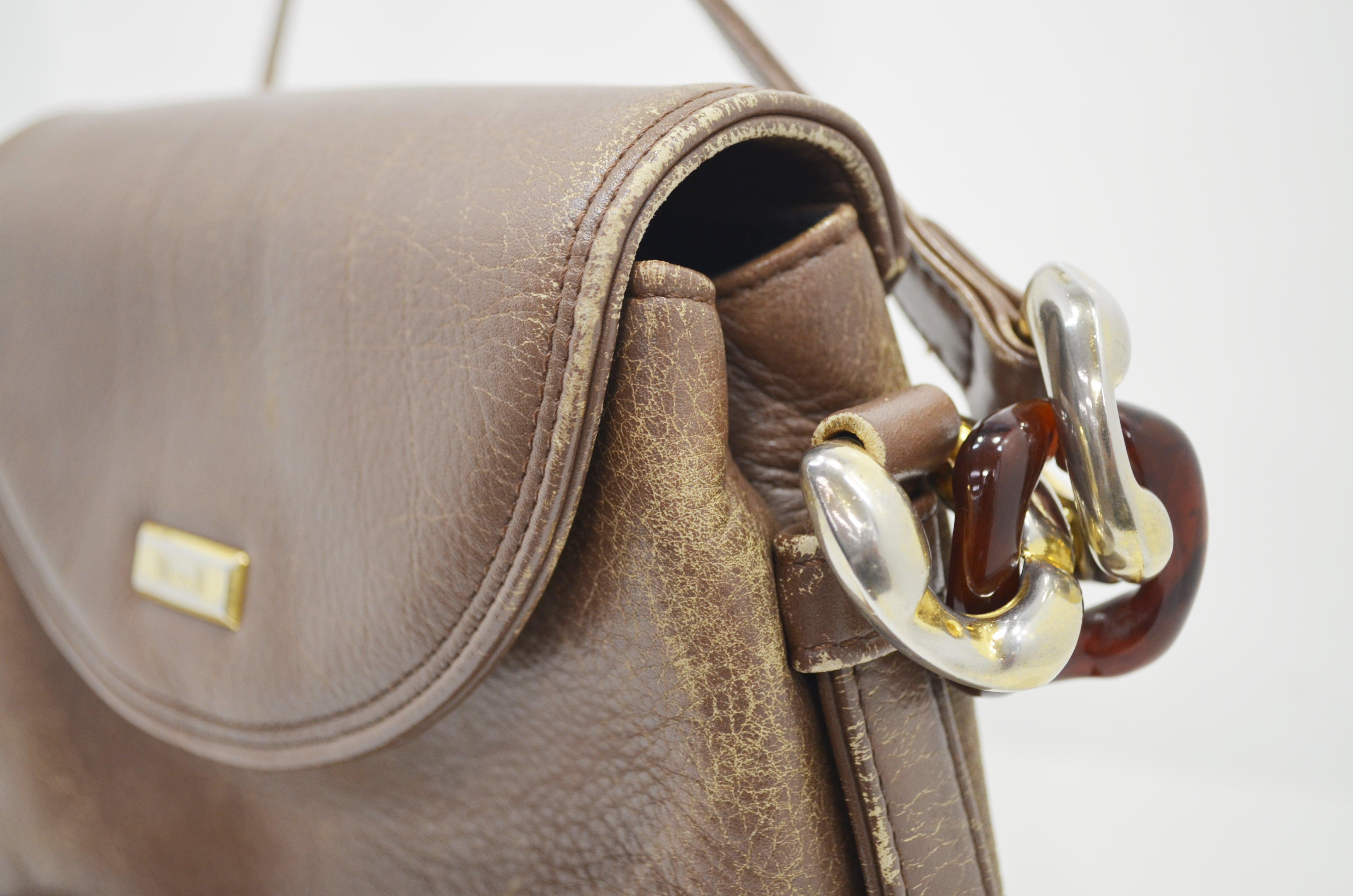 マレリー鞄・バッグのクリーニング事例側面