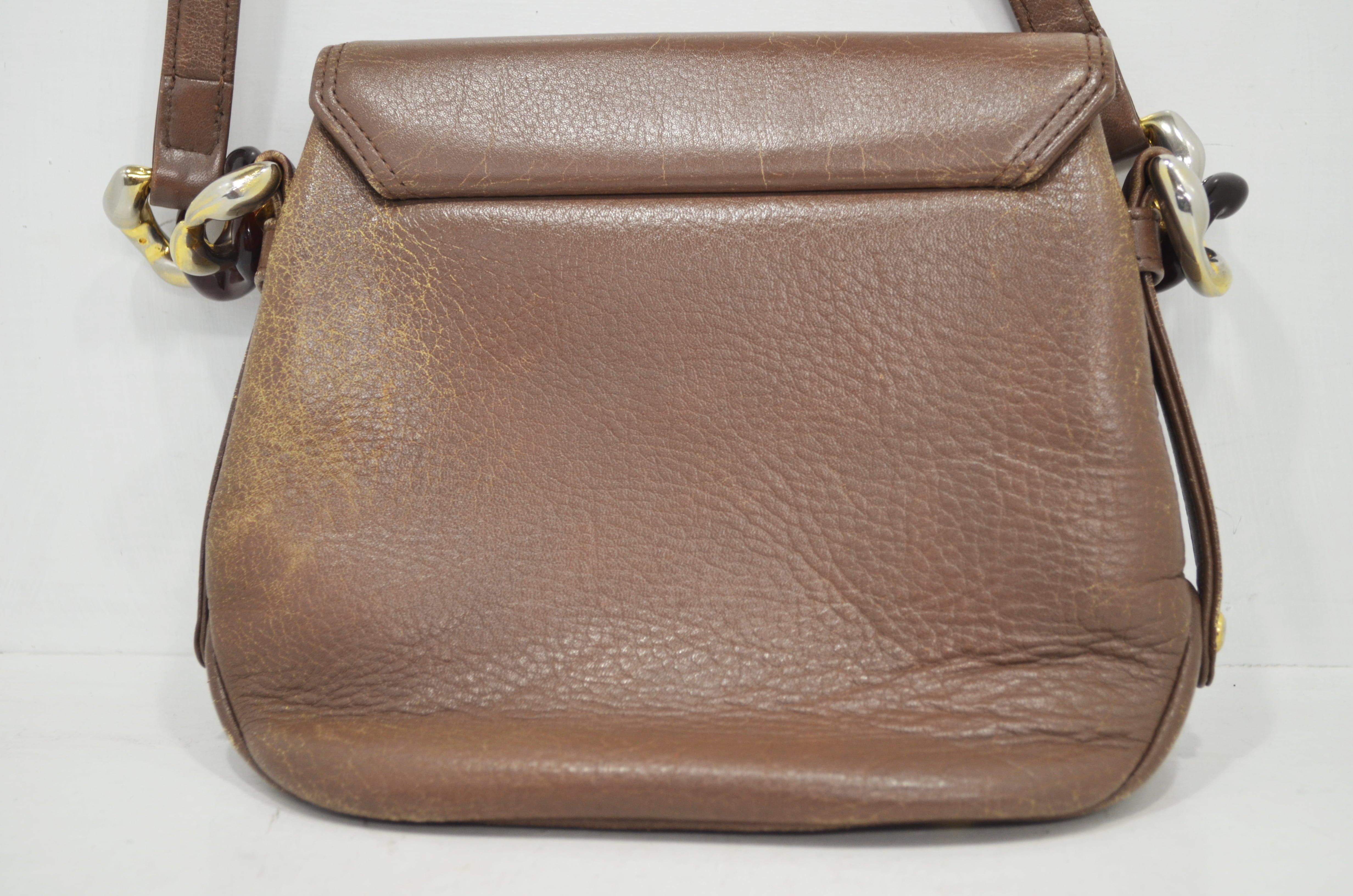 マレリーの鞄・バッグのクリーニング作業例裏面