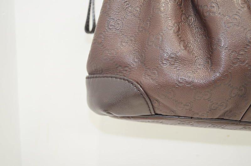 グッチのカバン(鞄)クリーニング・修理の作業後