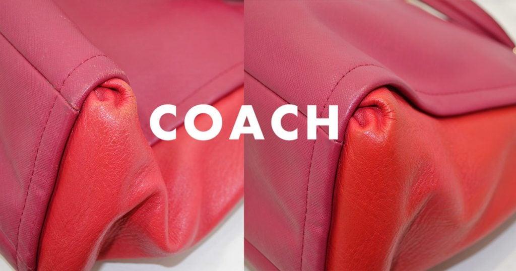 コーチ鞄・バッグのクリーニング
