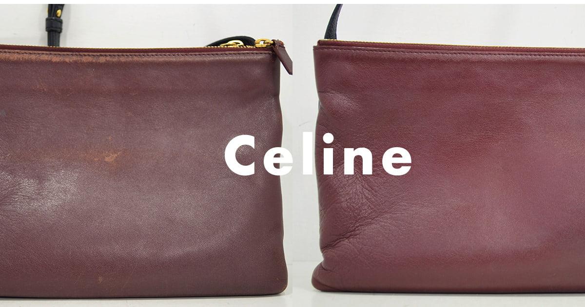 32438ff86794 セリーヌの鞄・トリオバッグのクリーニング・修理の作業例