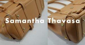 サマンサタバサのバッグ・鞄のクリーニング事例