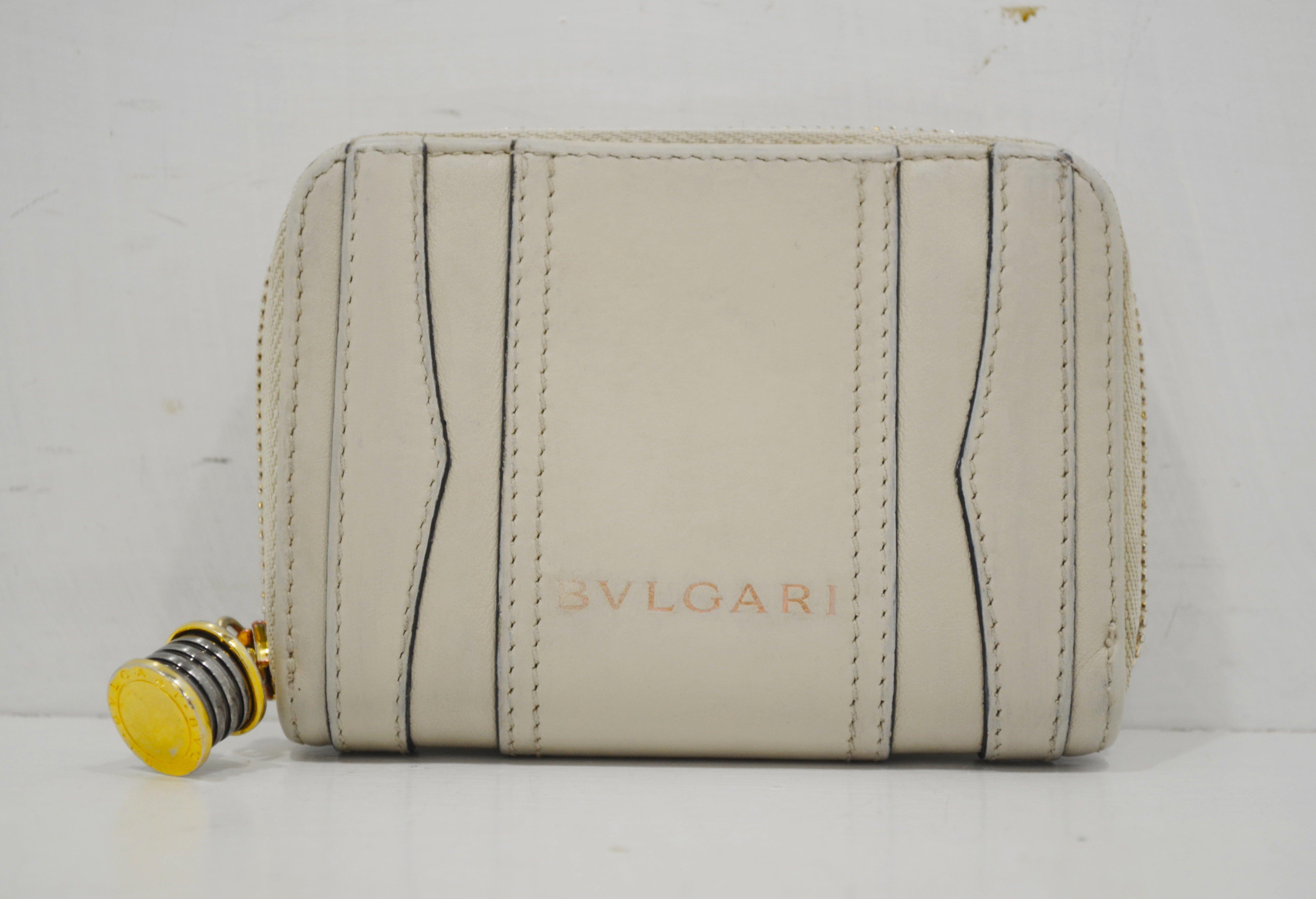 ブルガリの財布のクリーニング・修理ー作業後(表面)