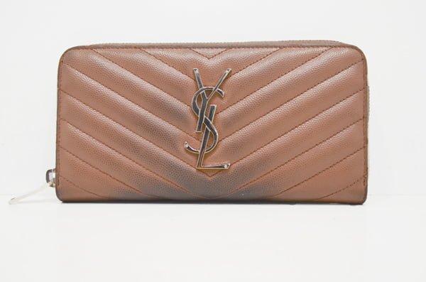 イブサンローランの財布クリーニング・修理前表