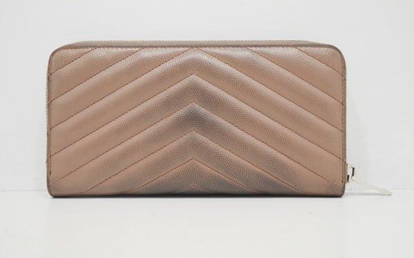 イブサンローランの財布のクリーニング・修理の事例裏