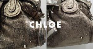 クロエ(chloe)のバッグ・鞄のクリーニング・修理の事例
