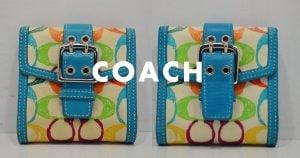 コーチの財布のクリーニング・修理の事例