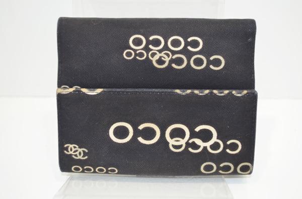 シャネルの財布のクリーニング事例