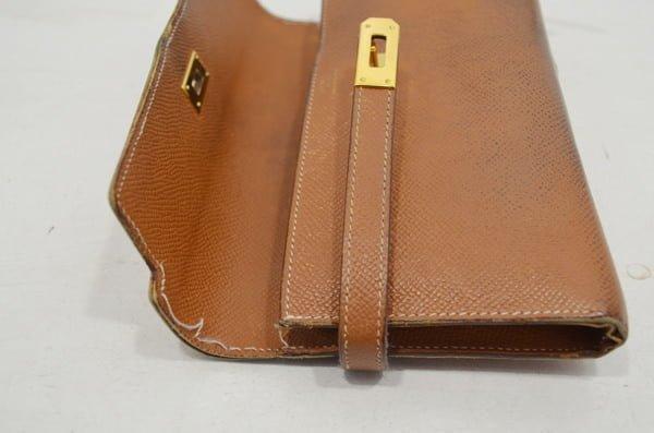 エルメス・ケリーロングの財布の修理画像