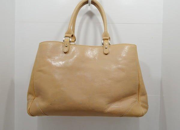 キタムラの鞄のクリーニング・修理事例(裏面)