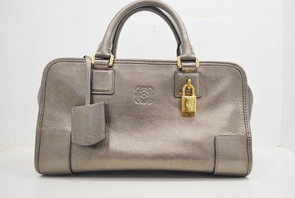 ロエベ・アマソナの鞄の修理事例