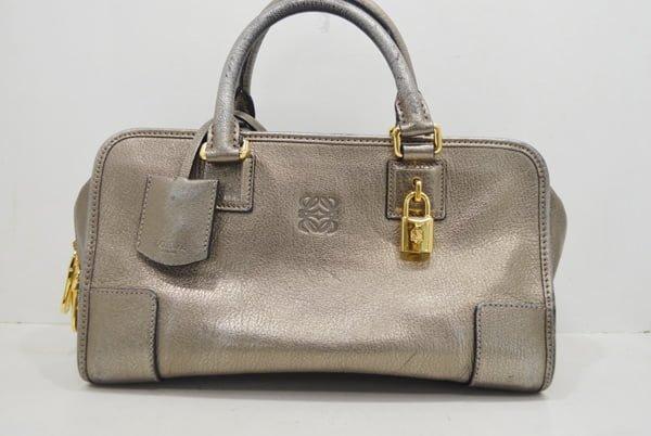 ロエベ・アマソナのバッグのクリーニング事例