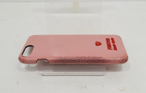 ミュウミュウのスマートフォンケースのクリーニング・修理の事例