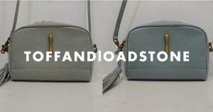 トフアンドロードストーンのバッグのクリーニング事例