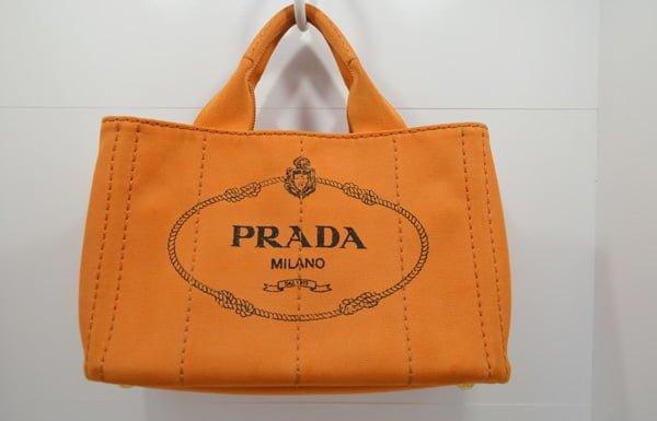 プラダ・カナパのバッグのクリーニング後