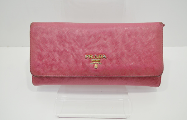 プラダの財布のクリーニング事例