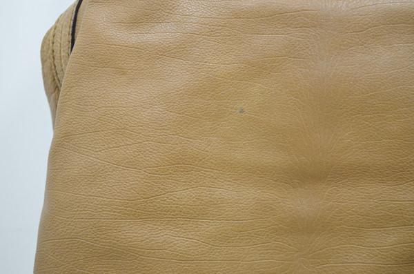 クロエの鞄の染みのクリーニング前