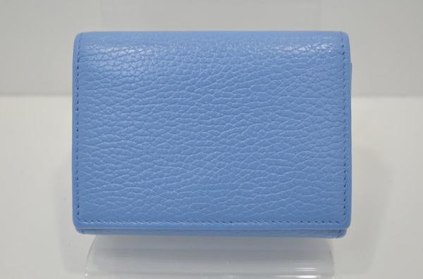 グッチの財布の背面画像(クリーニング後で黒ずみがキレイに無くなっています。)