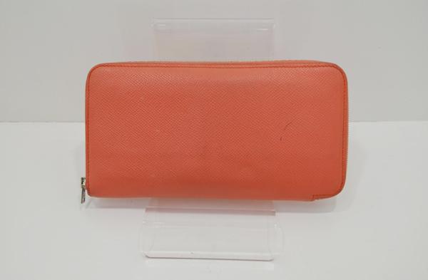 エルメスのアザップの財布の作業前の画像2