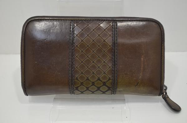 ボッテガ財布スコルピートの修理