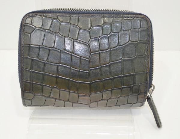 コムサメンの財布の修復事例・作業前