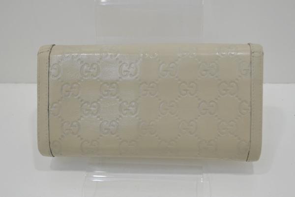 グッチ(スーキー・シマ)の財布の修理後の画像
