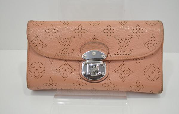 ルイヴィトン・マヒナの財布のクリーニング・修理