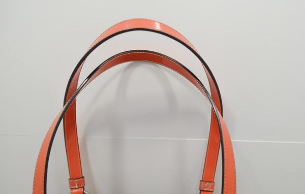 コーチのバッグ持ち手修理