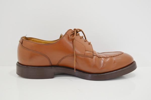 革靴のクリーニング