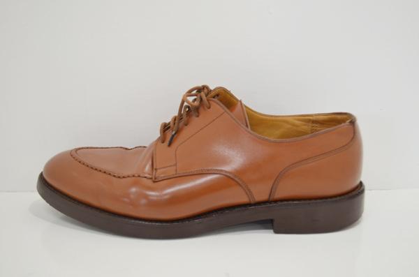 クロケットアンドジョーンズの革靴のクリーニング