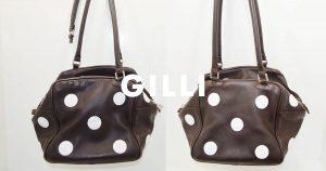 ジリ(gilli)のバッグのクリーニング事例