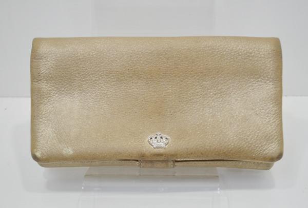 リュフカの財布のクリーニング前の画像