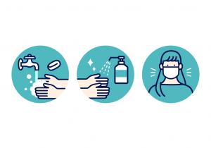 コロナ感染予防についてのアイキャッチ画像