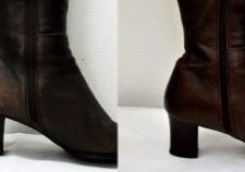 靴の修復事例